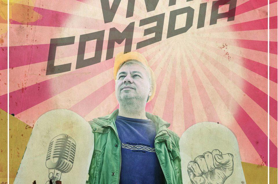 """Viva Comedia"" o Χριστόφορος Ζαραλίκος στο Ηράκλειο Κρήτης στο Ανοιχτό Θέατρο Τεχνόπολις"